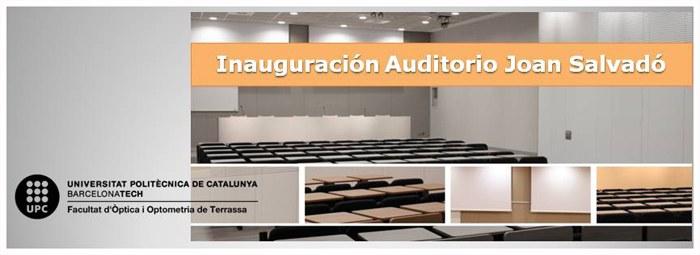 Inauguración Auditorio
