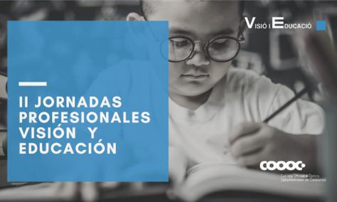 II JORNADES PROFESSIONALS VISIÓ I EDUCACIÓ - COOOC