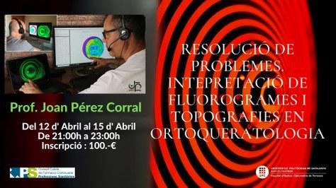 NOU CURS Orto-k nivell 2. Resolució de problemes. Interpretació de fluorogrames i topografies en ortoqueratologia