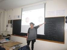 Sessió de sensibilització amb la discapacitat visual