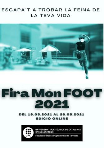 Torna la Fira Món FOOT 2021