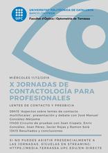 Jornadas de contactología 2019