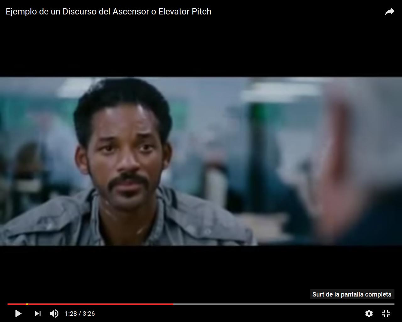 Elevator Pitch vídeo 1