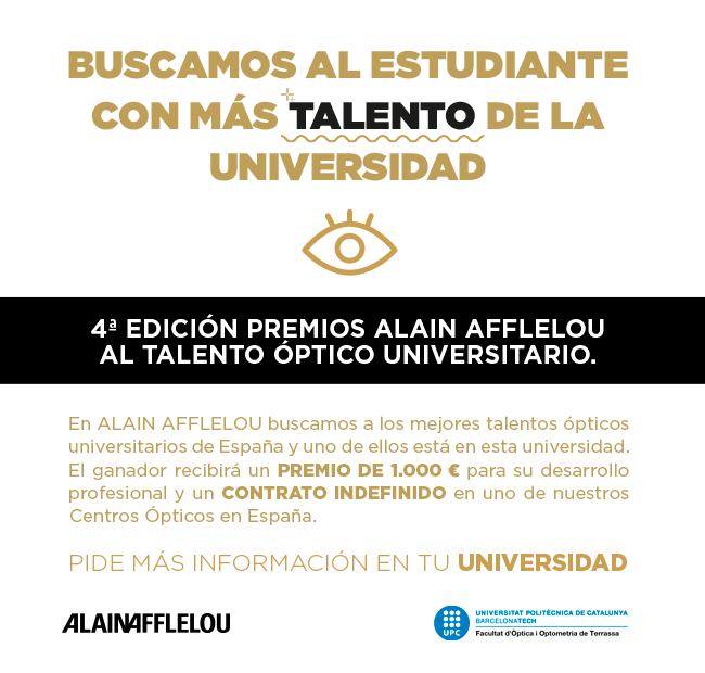 4a. edició premis Alain Afflelou
